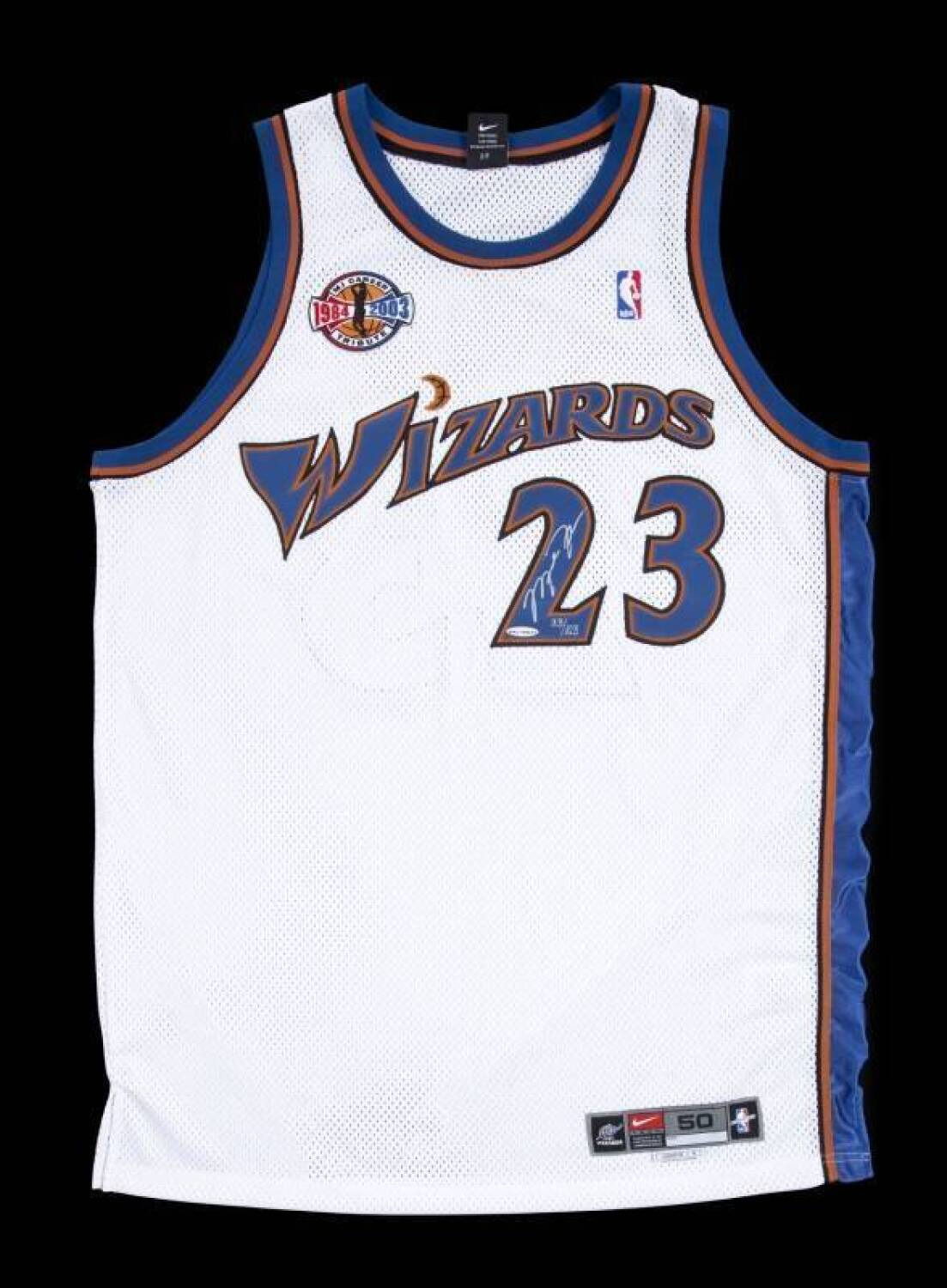 a8e5bbe17799 ... usa michael jordan signed limited edition mj career tribute washington  wizards jersey current price 500 25c9e