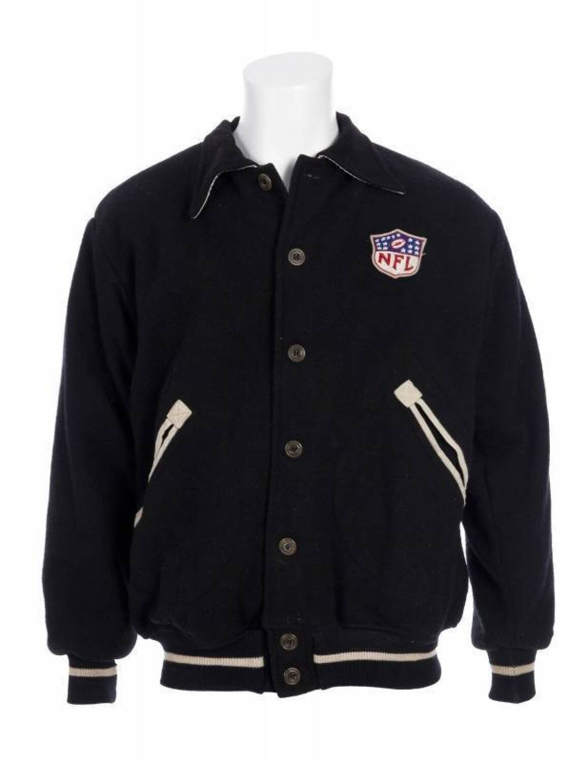 sports shoes 3292f d5222 WILLIAM JOE CARTER 1940 NFL ALL-STAR GAME JACKET - Current ...