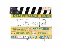 BURT REYNOLDS CLAPPERBOARD FROM SHARKY'S MACHINE
