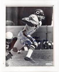 BURT REYNOLDS GALE SAYERS SIGNED AND INSCRIBED PHOTOGRAPH