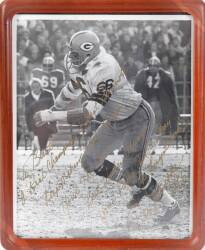 BURT REYNOLDS RAY NITSCHKE SIGNED AND INSCRIBED PHOTOGRAPH