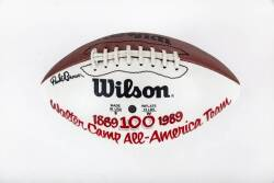 BURT REYNOLDS WALTER CAMP 100TH ANNIVERSARY ALL-AMERICAN TEAM SIGNED FOOTBALL