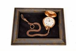 BURT REYNOLDS 18K GOLD POCKET WATCH GIFTED BY SALLY FIELD