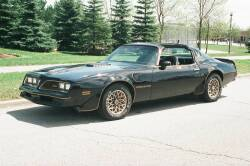 "BURT REYNOLDS ""SMOKEY AND THE BANDIT"" 1977 PONTIAC TRANS AM COUPE - Y82 SPECIAL EDITION"