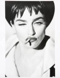 madonna polaroid from the immaculate collection photoshoot