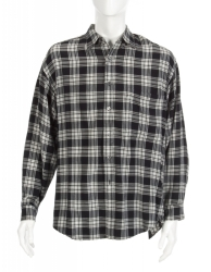 MICHAEL JACKSON WORN PLAID SHIRT