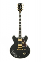B.B. KING SIGNED GIBSON LUCILLE ELECTRIC GUITAR