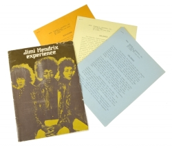 JIMI HENDRIX EXPERIENCE PRESS KIT