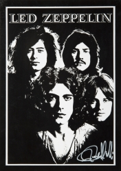 LED ZEPPELIN RON RAFFAELLI PHOTOGRAPH