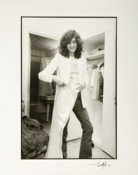 JIMMY PAGE PHOTOGRAPH BY NEAL PRESTON