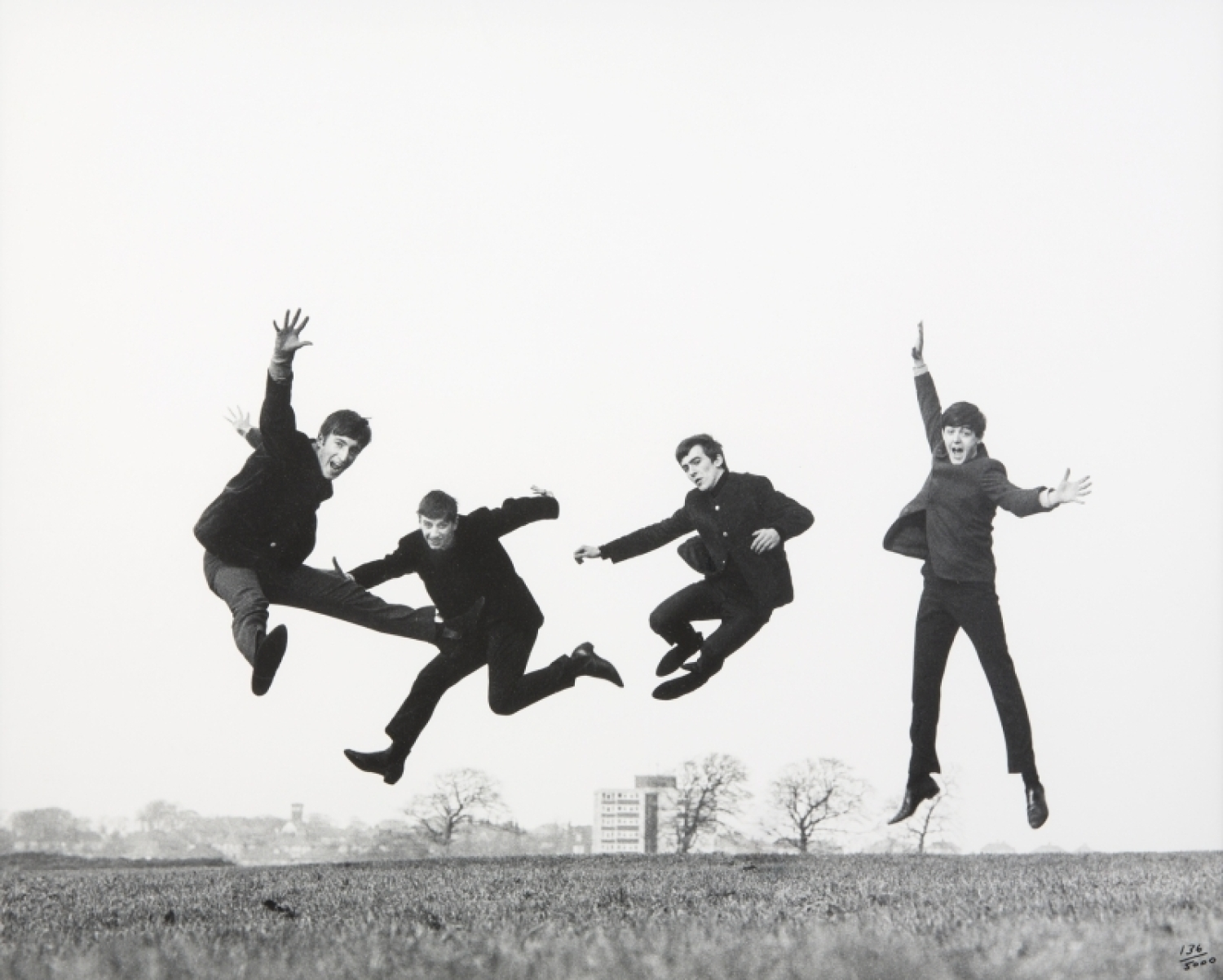 The Beatles Jump Pose Photograph By Dezo Hoffman Current