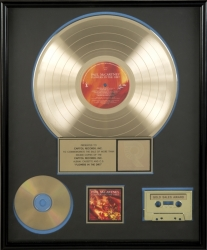 "PAUL MCCARTNEY ""GOLD"" RECORD AWARD"