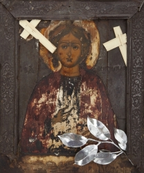 ANTIQUE AND LATER RUSSIAN ICON