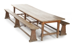 ORIGINALLY JOHN LENNON AND YOKO'S REFECTORY TABLE