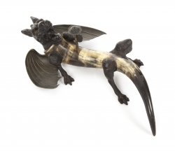 VINTAGE DRAGON WITH HORN BODY