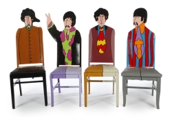 JOE WALSH GIFTED BEATLES YELLOW SUBMARINE CHAIRS
