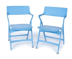 "PAIR OF KARTELL ""DOLLY"" CHAIRS"