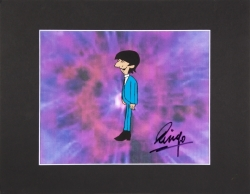 RINGO STARR SIGNED ANIMATION CEL