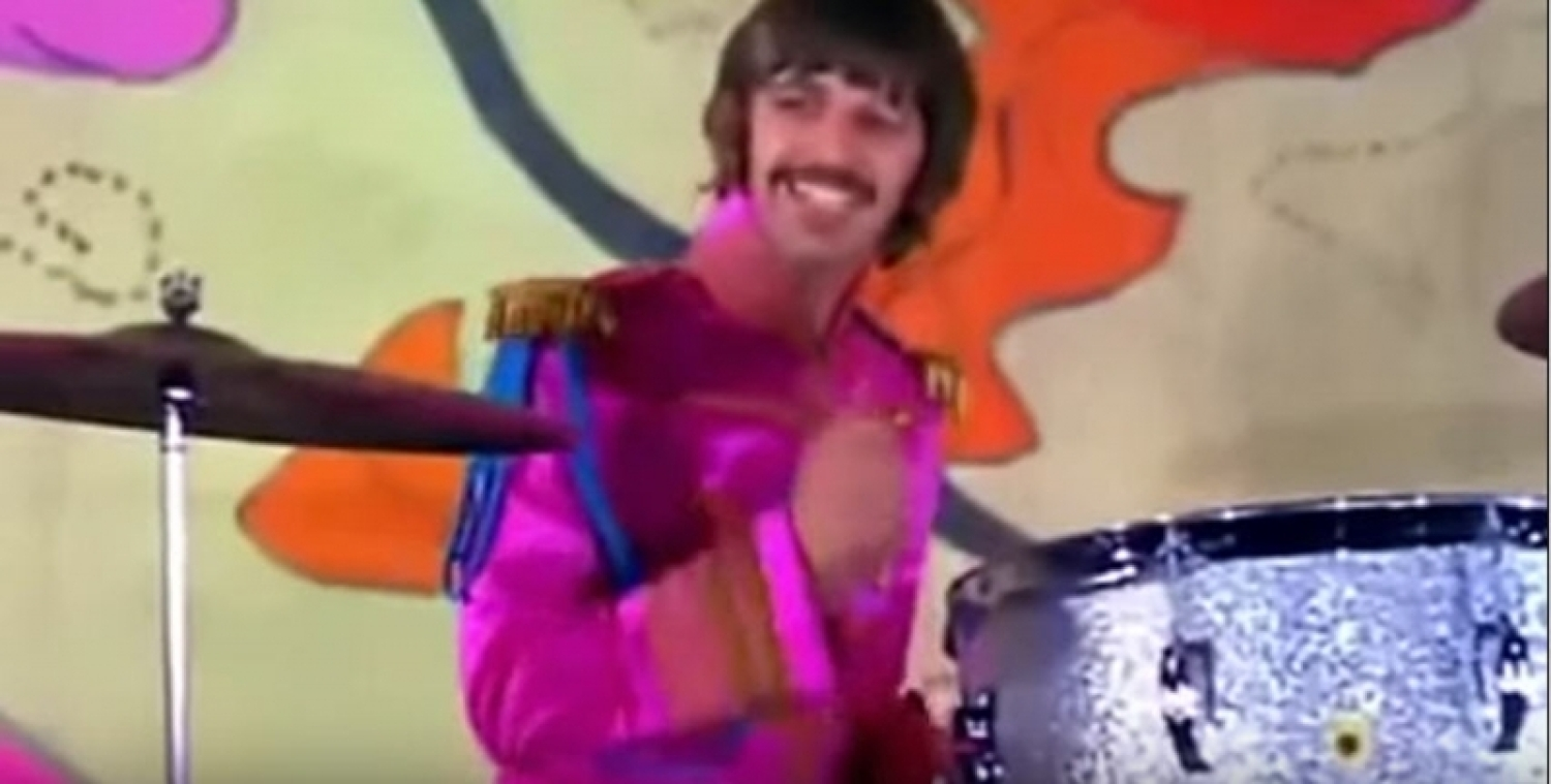 Ringo Starr Hello Goodbye Video Used Drums
