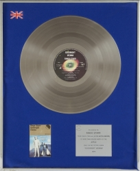 RINGO STARR BRITISH SALES AWARD