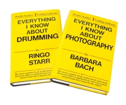 RINGO STARR AND BARBARA BACH GAG BOOKS