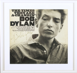 BOB DYLAN SIGNED ALBUM