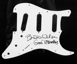 BRIAN WILSON SIGNED PICK GUARD