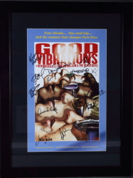 """GOOD VIBRATIONS"" SIGNED MUSICAL POSTER"