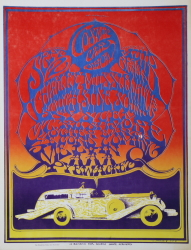 COSMIC CAR SHOW POSTER BY MOUSE