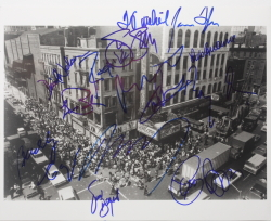 FILLMORE EAST SIGNED PHOTOGRAPH