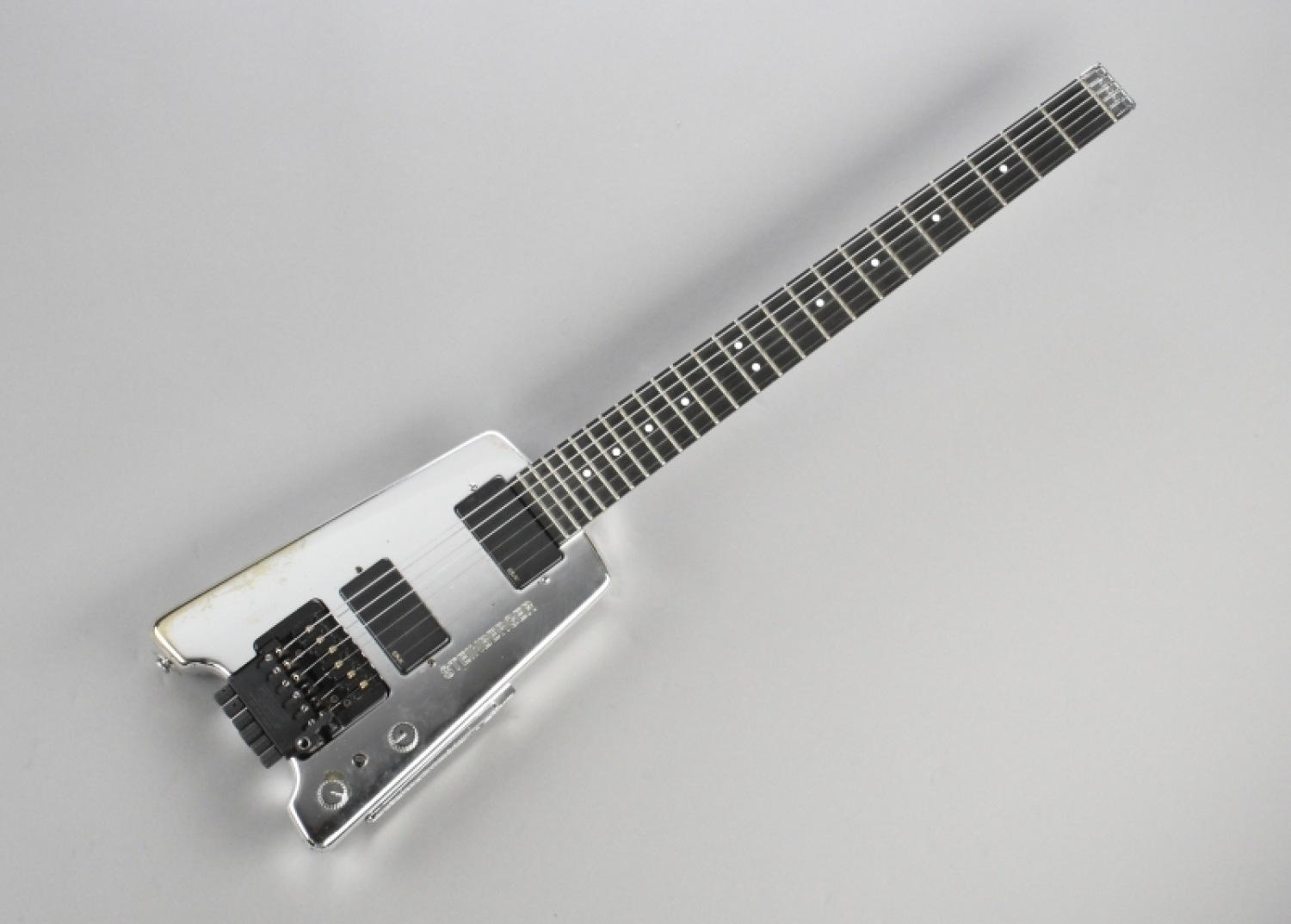 David Bowie's Chrome Steinberger Guitar