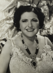 LOUELLA PARSONS PHOTOGRAPH SIGNED TO HAROLD LLOYD