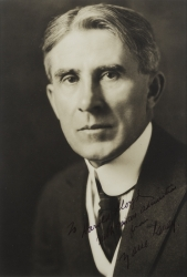 ZANE GREY PHOTOGRAPH SIGNED TO HAROLD LLOYD