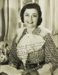 FRANCES MARION PHOTOGRAPH SIGNED TO HAROLD LLOYD