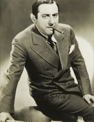 ERNST LUBITSCH PHOTOGRAPH SIGNED TO HAROLD LLOYD