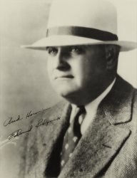 EDWARD SEDGWICK PHOTOGRAPH SIGNED TO HAROLD LLOYD
