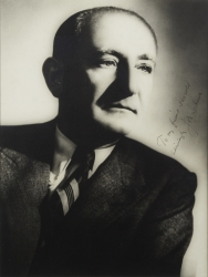 JOSEPH M. SCHENCK PHOTOGRAPH SIGNED TO HAROLD LLOYD