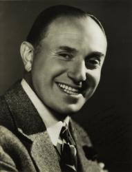 JACK L. WARNER PHOTOGRAPH SIGNED TO HAROLD LLOYD