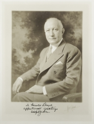 ADOLPH ZUKOR PHOTOGRAPH SIGNED TO HAROLD LLOYD