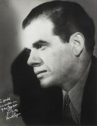 FRANK CAPRA PHOTOGRAPH SIGNED TO HAROLD LLOYD