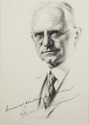GEORGE EASTMAN PHOTOGRAPH SIGNED TO HAROLD LLOYD