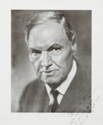 CLARENCE DARROW PRINT SIGNED TO HAROLD LLOYD