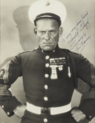 LON CHANEY PHOTOGRAPH SIGNED TO HAROLD LLOYD