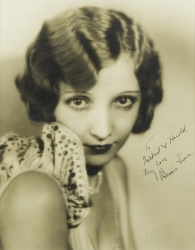 BESSIE LOVE PHOTOGRAPH SIGNED TO HAROLD LLOYD