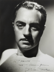 WILLIAM POWELL PHOTOGRAPH SIGNED TO HAROLD LLOYD