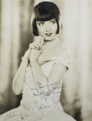 COLLEEN MOORE PHOTOGRAPH SIGNED TO HAROLD LLOYD