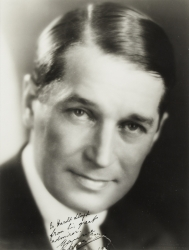 MAURICE CHEVALIER PHOTOGRAPH SIGNED TO HAROLD LLOYD