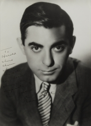EDDIE CANTOR PHOTOGRAPH SIGNED TO HAROLD LLOYD