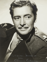 RONALD COLMAN PHOTOGRAPH SIGNED TO HAROLD LLOYD