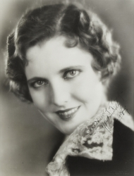 JEAN ARTHUR PHOTOGRAPH SIGNED TO HAROLD LLOYD